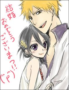 Discovered by Raspberry Princess. Find images and videos about bleach, kurosaki ichigo and ichiruki on We Heart It - the app to get lost in what you love. Bleach Ichigo And Rukia, Bleach Anime, Bleach Fanart, Doujinshi, Anime Couples, Find Image, Fan Art, Manga, Random