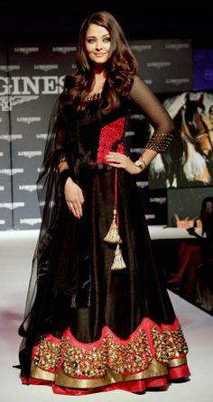 Aishwarya Rai Dresses Ankle Length