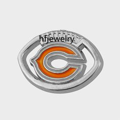 2015 Hot Sale Alloy Chicago Bears Sport Team Logo Charms Fashion Diy Bracelet Connector Jewelry