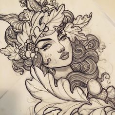 Truly a beautifully done flower child babe. Definityly a beautiful drawing with graphite.
