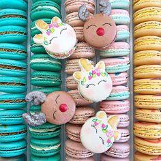Con questi dolci macarons potrai assaggiare la magia degli unicorni - Radio Deejay