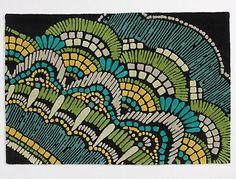 Empowering Textile and Surface Pattern Designers Ethnic Patterns, Textile Patterns, Textile Design, Fabric Design, Print Patterns, Textiles, House Color Schemes, Rustic Rugs, Gray Yellow