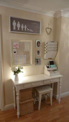 DIY organization idea. Command center. Office decor.