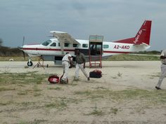 We travelled by small planes to most of our camps.  Botswana101.com #OkanvangoDelta #CampOkavango #Botswana