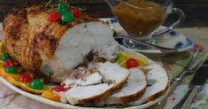 Pollo relleno de Navidad. ¡Qué delicia!