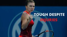 Injured Simona Destroying Top Seeded Players | Simona Halep vs Caroline ... Simona Halep, Seeded, Tennis Players, Tennis Racket, Sydney, Top, Crop Shirt, Blouses