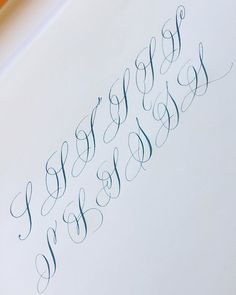 Calligraphy Letters Alphabet, Calligraphy Fonts Alphabet, Flourish Calligraphy, Tattoo Fonts Cursive, Hand Lettering Alphabet, Learn Calligraphy, Penmanship, Creative Lettering, Lettering Styles