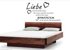 Wandtattoo Liebe besteht... Flur, Schlafzimmer, Wohnzimmer, Spruch, Dekoration…