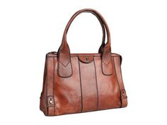 Fossil Vintage Re-Issue North/South Tote Handbags - Brown - product summary - Bing Shopping