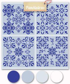 Estampa à venda no Panólatras - Link: http://www.panolatras.com.br/compre/tecidos/padroes-portugueses