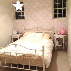 星/寝室/アイアンベッド/部屋全体のインテリア実例 - 2013-12-30 01:21:29 | RoomClip(ルームクリップ)
