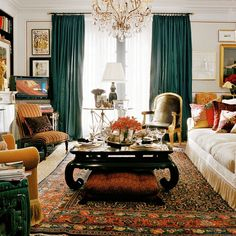 furniture-meubles:  Ralph Lauren Collection by E.J. Victor Furniture. Opulent Refinement.