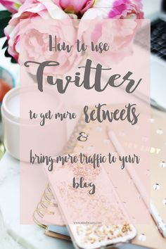 How to use Twitter effectively to promote your blog, bring more traffic and therefore gain more exposure. Tips to get more retweets...