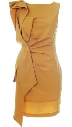 really like the color and the fun draping