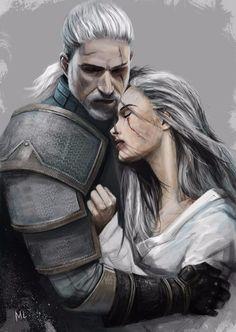 Geralt & Cirilla