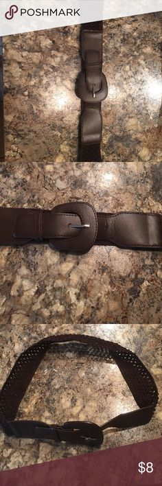 Brown waiste belt Belt is brown. Size 9. Has a buckle fastener. Looks great with a dress. Has been worn in good condition Accessories Belts