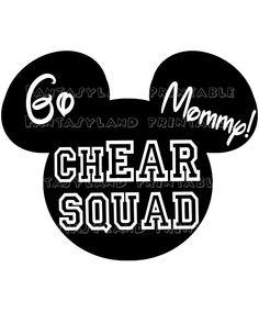 Tinkerbell Half Marathon chEar Squad by FantasylandPrintable