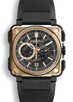 E-boutique - BR-X1 ROSE GOLD & CERAMIC - Bell & Ross Official Site