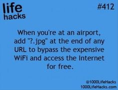 life wonder if this works I will have to try next time I am at the airport! If it does works that would be sooooo cool