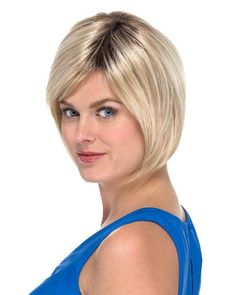 Glueless Fashion Bob short ombre style 1B/613 two tones full lace wig 8 inches