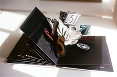 Chanel pop-up book