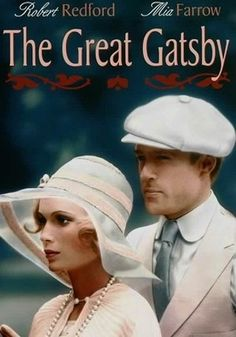 The Great Gatsby (1974) | Movie Sticker- I chose this picture because I like to see both of the characters together.