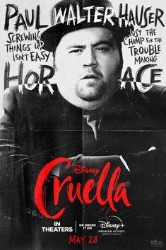 黑白魔后/時尚惡女:庫伊拉(Cruella)poster