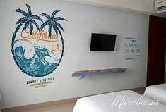 Penyedia Jasa Mural Hotel di Jogja. Hubungi HP/WA : 0818 988 154. Terbaik & Berkualitas. Mural Cafe, Hotel Apartment, Semarang, Tropical Garden, Surabaya, Art Tips, Love, Projects, Painting