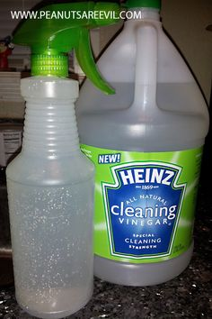 cleaning tips using heinz cleaning vinegar