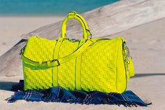 Louis Vuitton - love the bright color!