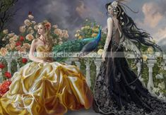 """Pretty(19"""" x 25"""" © 2010)   Pretty is a signed and numbered limited edition of 2500.   Please remember that orders take between 2 to 6 weeks.   The actual printwill notcontain the copyright strip.      Pretty is the companion to Lovers   Prettyunmatted (19 x ..."""