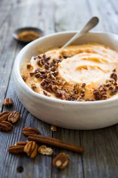 Creamy Carrot Mashed Potatoes with toasted brown butter pecans- a delicious addition to your holiday table. Butter Pecan, Brown Butter, Fish Recipes, Beef Recipes, Appetizer Recipes, Creamy Mash, Toasted Pecans, Potato Dishes, Cake Ingredients