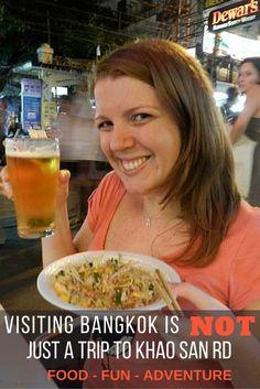 Visiting Bangkok is Not Just a Trip to Khao San Rd | HT @MyTravelFreedom #travel #thailand #bangkok #wanderlust