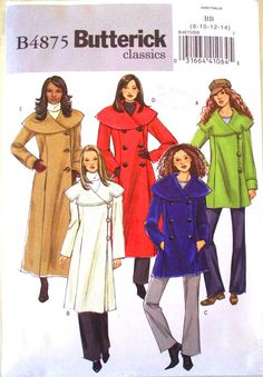 butterick classics pattern 4875  by thewildstrawberries on Etsy, $12.00