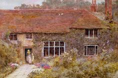 a surrey cottage - Helen Allingham
