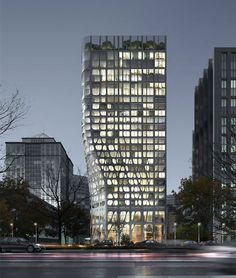 Conrad Hotel in Beijing, China by MAD Architects