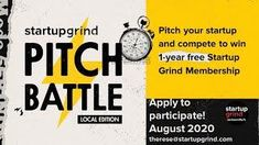 SG Jacksonville Pitch Battle Local Boot Camp Boot Camp, Healthy Mind, Startups, Pitch, How To Make Money, Battle, How To Apply, Camping, Campsite