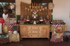 "Photo 3 of 15: Rustic Farmyard / Birthday ""Christian's Farmyard Birthday Bash"""