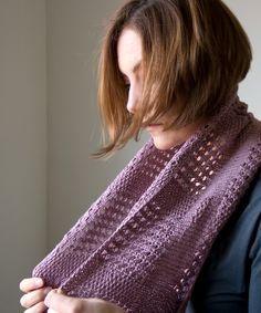 Canaletto Cowl | Tricksy Knitter by Megan Goodacre