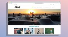 Halfway Crooks | KNOWN DESIGN CO  Check out our latest bespoke logo design, website design and responsive web development project just that launched for Halfway Crooks based in Cape Town.  This fresh blog is your one-stop-shop for all the latest local and international music, fashion, sports and trending news. Updated daily with great new interesting stories to share.  #halfwaycrooks #bespoke #logo #design #responsive #web #website #websitedesign #webdevelopment #webdev #development @halfw