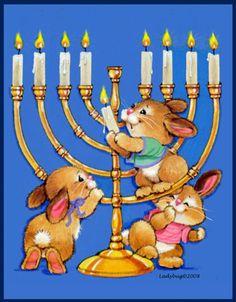 Drawing Art, Art Drawings, Bunny Rabbits, Happy Hanukkah, Painting Inspiration, Sketching, Ladybug, Israel, Greeting Cards
