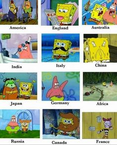All countries.