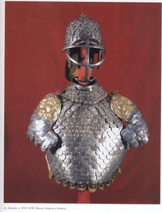 Unusual scale armour. Probably Polish!!!