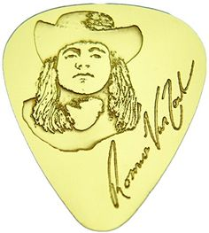 "myLife Hard Luxury ""Round Tip"" Guitar Pick Made of Genuine Solid Brass {Yellow Gold Colored ""Ronnie Van Zant"" - Perfect for Creating Dynamic Tones on Any Type of Acoustic or Electric Guitar} [Single Pack] myLife Brand Products http://www.amazon.com/dp/B00W4K645Y/ref=cm_sw_r_pi_dp_2zemvb1XWTKFQ"