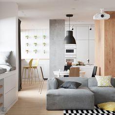 ZROBYM Architects Visualize a Stylish Duplex Apartment in Minsk, Belarus