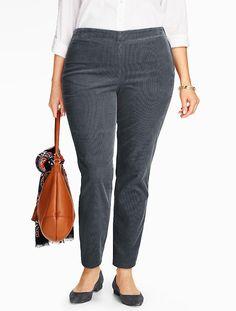 Talbots - Side-Zip Cord | Pants | Woman