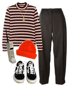 """""""top story"""" by chanelandcoke ❤ liked on Polyvore featuring Cédric Charlier, Shrimps, Vans, ASOS and Tak.Ori"""