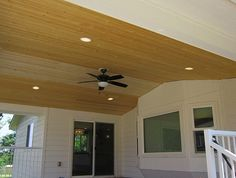Outdoor Lighting and Ceiling Fan