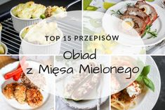 Obiad z mięsa mielonego – TOP 15 przepisów #obiad #pomysłna #mięsomielone #przepis #przepisy Pizza M, Frittata, Potato Salad, Mashed Potatoes, Curry, Food And Drink, Beef, Cooking, Ethnic Recipes
