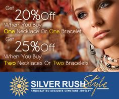 SilverRushStyle 25% Off on Necklaces & Bracelets Coupon Code « September 2014 Free Promo Code Best Deals Save Money